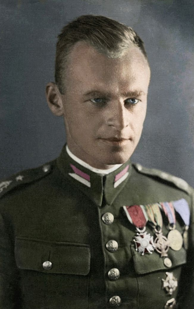 Witold Pilecki (13 May 1901 – 25 May 1948) was a Polish soldier, a rittmeister of the Polish Cavalry during the Second Polish Republic, the founder of the Secret Polish Army resistance group in German-occupied Poland in November 1939, a member of the underground Home Army (Armia Krajowa), which was formed in February 1942. Pilecki  took part in the Warsaw Uprising in August 1944. He was executed in 1948 by the Stalinist secret police. http://en.wikipedia.org/wiki/Witold_Pilecki