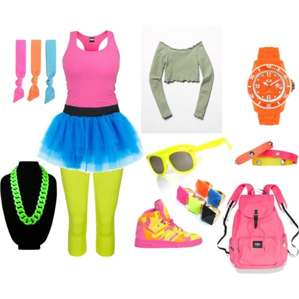Neon party dress ideas