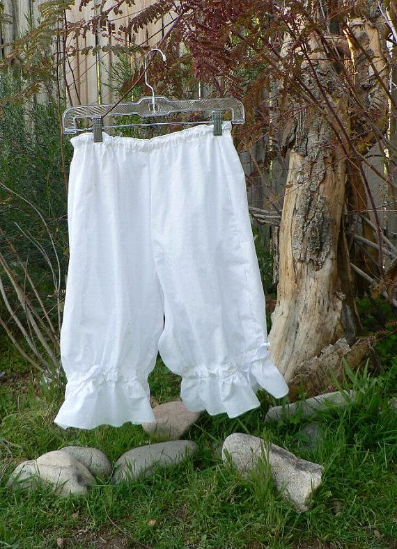Womens Cotton Bloomers Victorian Knickers by ItsNotPajamas on Etsy, $45.00