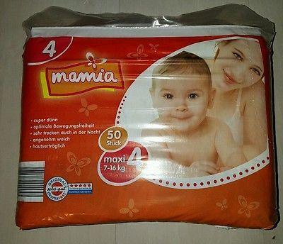 300 Windeln Gr. 4 Mamia Babywindeln Erstausstattung bio öko