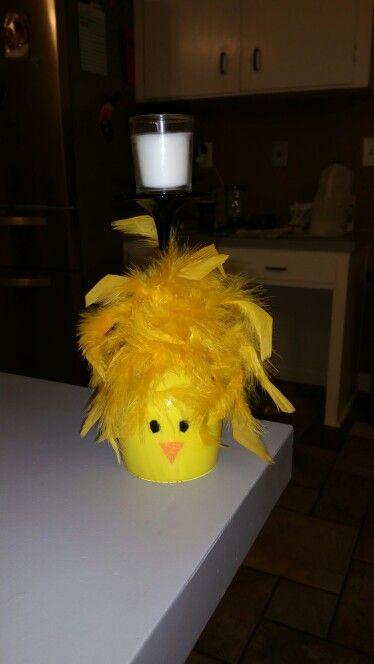 Chicken candle holder