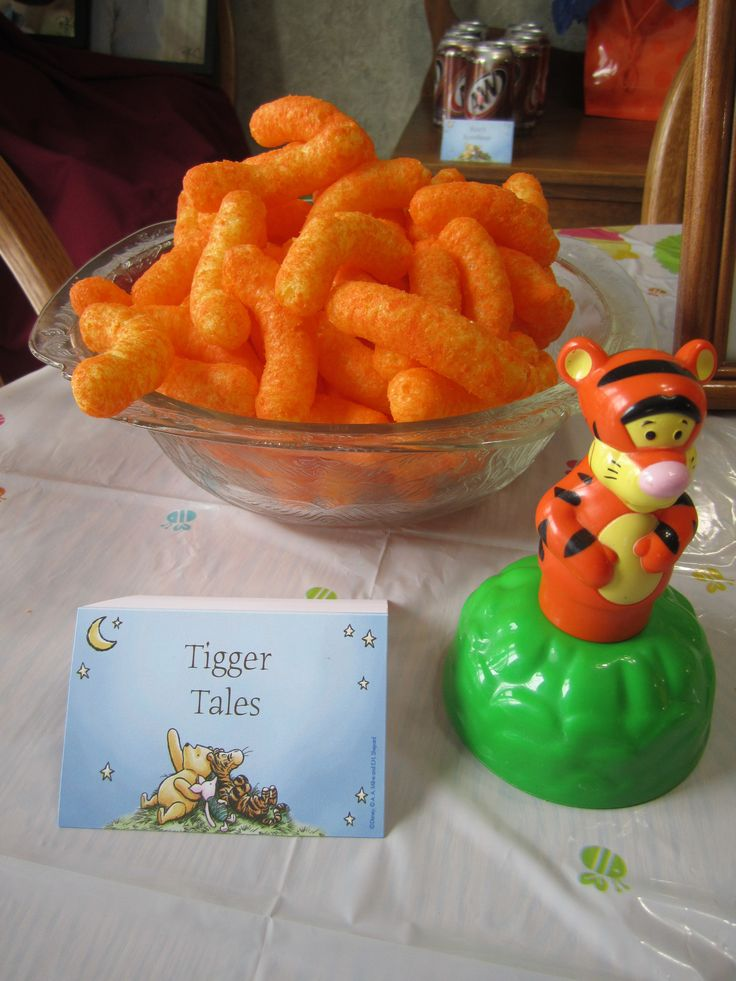 Easy Snack Food - Tiger Tales Makes sticking to the theme easier.