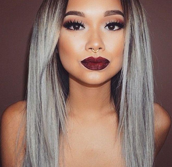 15 best color de cabello gris images on pinterest - Color gris claro ...
