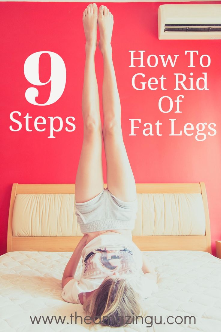how to lose weight in my legs fast