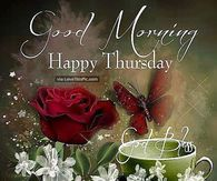 Good Morning Happy Thursday Image