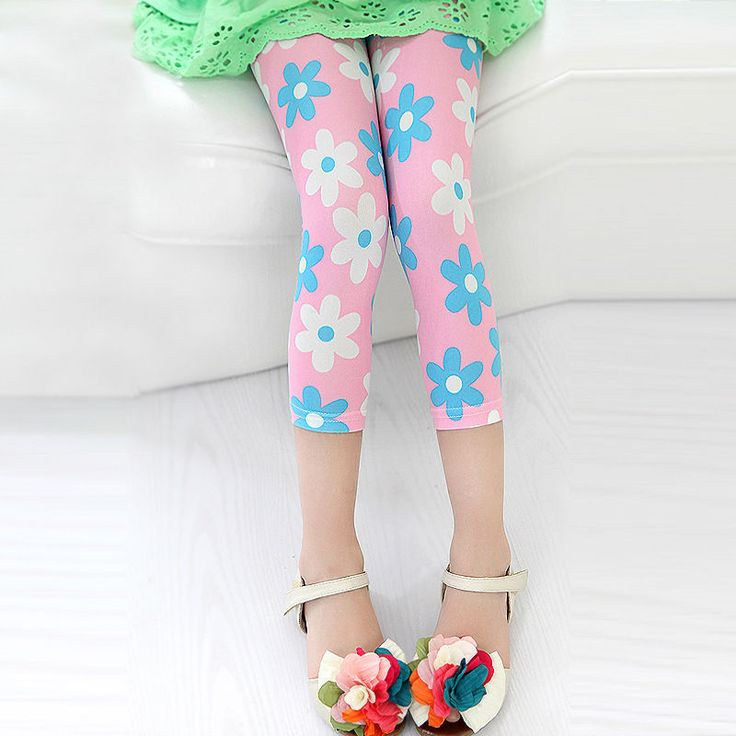 2016 New Arrival Toddler Kids Baby Girl Skinny Slim Leggings Stretchy Summer Floral  Pants Trousers #>=#>=#>=#>=#> Click on the pin to check out discount price, color, size, shipping, etc. Save and like it!