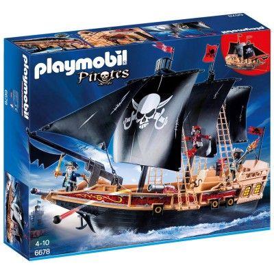 Playmobil 6678 : Pirates : Bateau pirates des ténèbres - Playmobil-6678