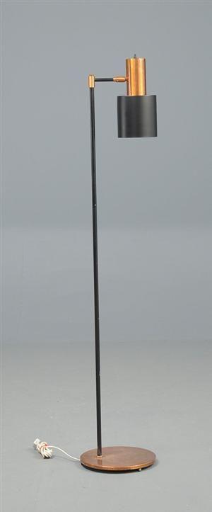 Standerlampe / gulvlampe, kobber, Fog og Mørup, Jo Hammerborg.