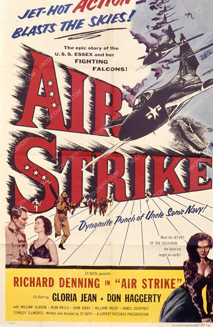 Richard Denning Gloria Jean film Air Strike 35m-7689