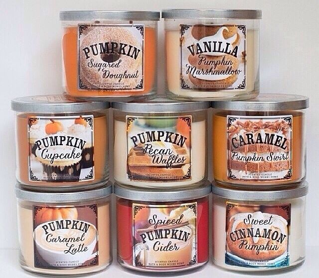 Bath and Bodyworks fall 2014! New scents include: Scents include: Trick or…