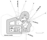 Plán horního patra StM-S 30