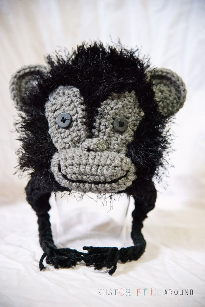 Gorilla 0-3 month hat pattern So I had a custom order to make any kind of jungle animal I like. They were going to a baby show and the theme is jungle theme. So with some pondering, I went through …