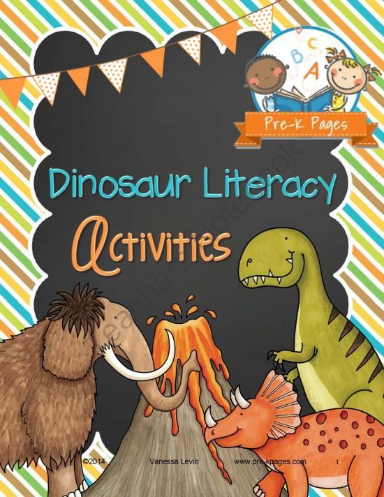 dinosaur literacy activities from pre k pages on 74 pages fun. Black Bedroom Furniture Sets. Home Design Ideas