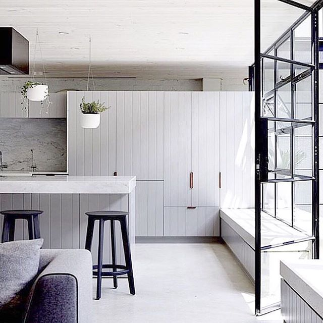 Brain is in kitchen overdrive | so excited to start #nestinginnorthmeadrenofour ✌️have a go at this little number #kitchenrenoinspo oh and don't forget to follow us at snapchat  threebirdsrenos for all the behind the scenes action!!  via @derek_swalwell design by @ARCHITECTSEAT