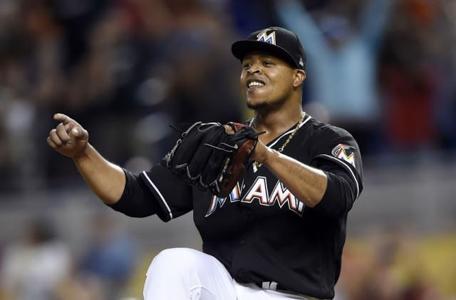 #MLB: Edinson Vólquez lanza juego sin hit ni carrera en triunfo de Marlins sobre D-backs