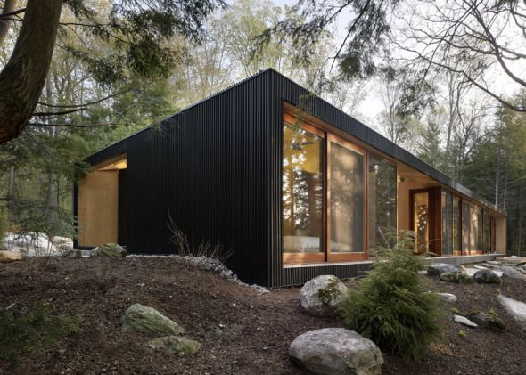 Casa en el lago. Clear Lake Cottage. - Noticias de Arquitectura - Buscador de Arquitectura