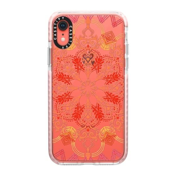 iphone xr coral phone case