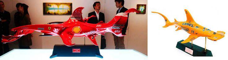 Formula 1 y Tiburon martillo