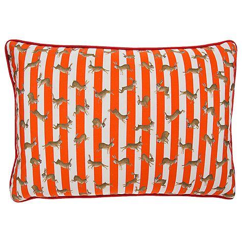 Buy Mister Berwyn Racing Rabbit Stripe Cushion Online at johnlewis.com