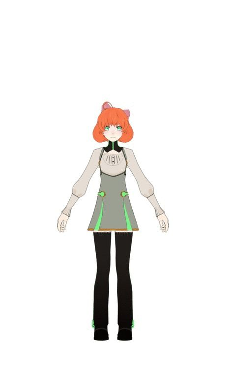 RWBY - Penny Turnaround by jkphantom9