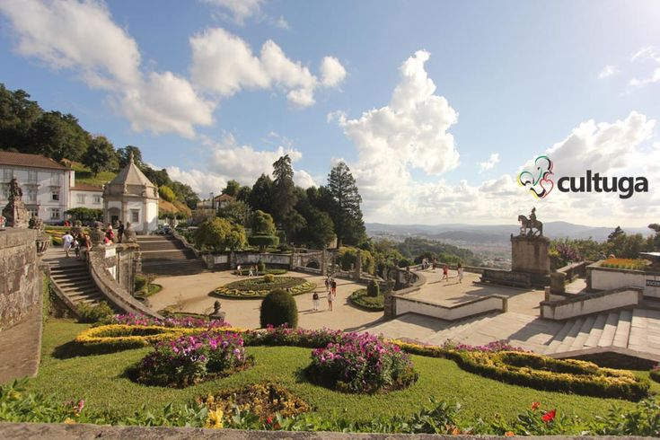 Santuário Bom Jesus do Monte, em Braga. Uma das vistas mais bonitas de Portugal. Roteiro de Viagem | Miradouro