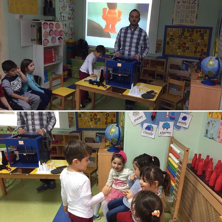 Something we liked from Instagram! Miniklere 3D Yazıcıları Tanıttık! #3dyazıcı #3dprinter #eğitim #3boyutlubaskı #3d #3dbaski #3dprint #inovasyon #yazıcı #moda #sanat #art #havacılık #üretim #otomotiv #mimari #dekorasyon #modelleme #prototip #teknoloji #okul #child #education by master.3d check us out: http://bit.ly/1KyLetq