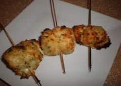 herby-parmesan chicken rolls for the grill or broiler via @SparkPeople