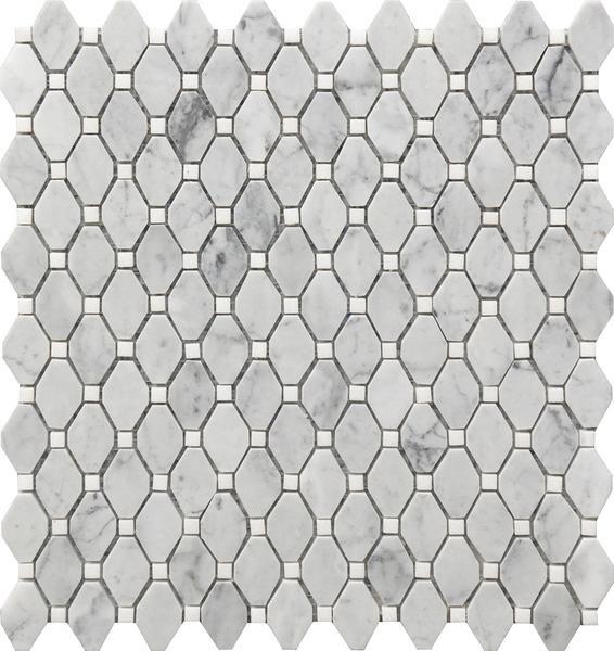 Small Rhombus 12 X12 Marble Mosaic Marble Mosaic Marble Mosaic Tiles Stone Mosaic Tile