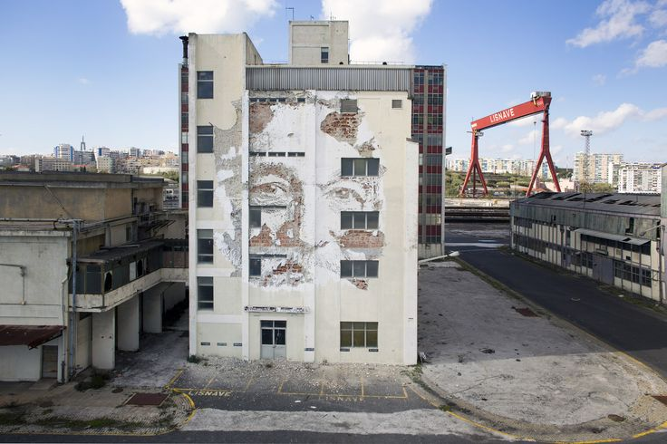 """Arte y Arquitectura: """"Scratching the Surface"""" por Vhils"""