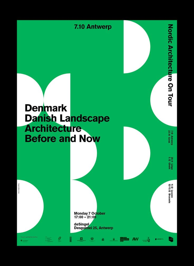 DesignPractice, Nordic Architecture On Tour. Denmark Danish Landscape Architecture Before and Now