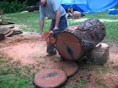 Big Husky chainsaw