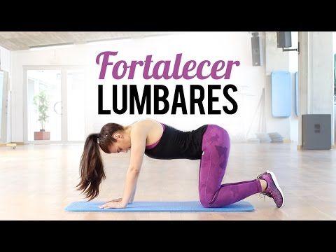 Fortalecer los lumbares y espalda | 9 minutos - YouTube