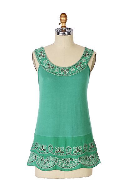 Emerald Forest Tee #anthropologie
