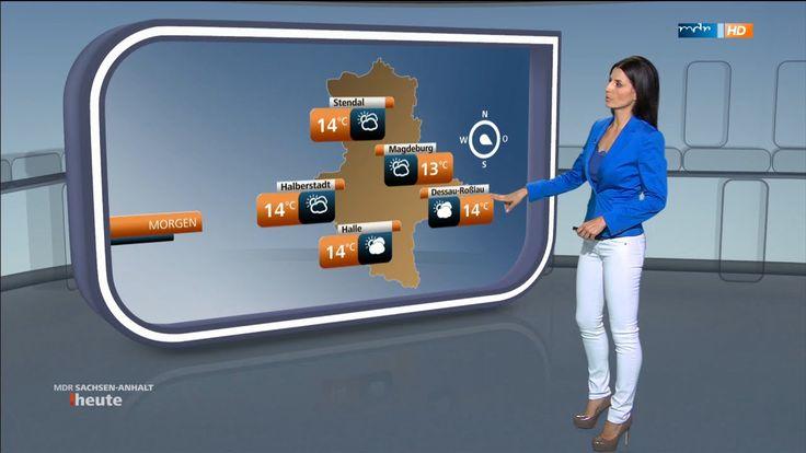 Stephanie Meißner - Wetter MDR Sachsen-SAH 26.05.2015