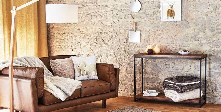 Idées déco - Salon - Des plaids imitation fourrure pour une ambiance chaleureuse - Décoration intérieur - Alinéa