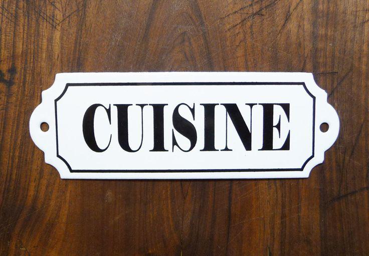 Les 53 meilleures images propos de pancarte porte sur for Plaque emaillee ancienne cuisine