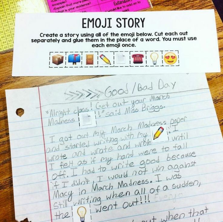 write a story with emojis and their meanings