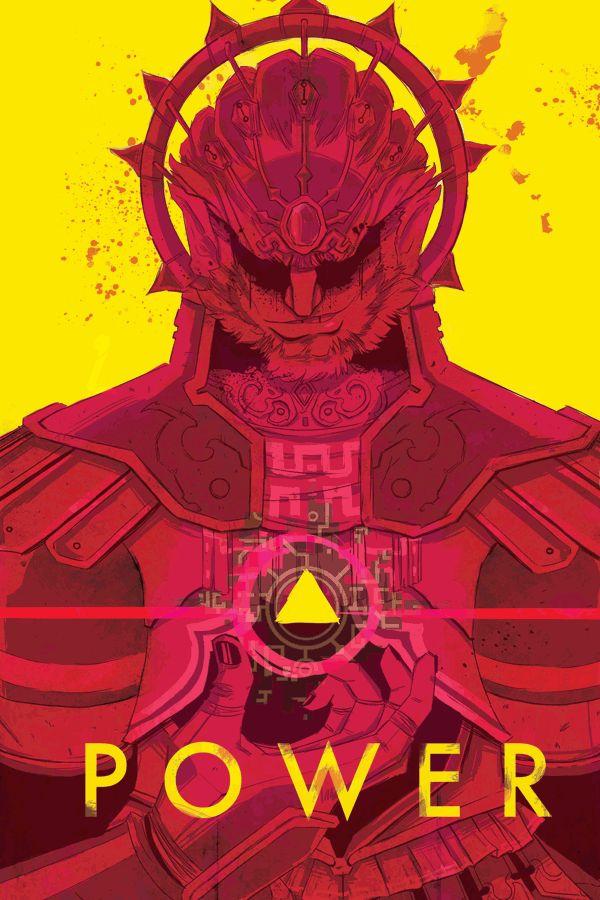 Power, Ganon,  The Legend of Zelda: Ocarina of Time artwork by Dexter James Cruz.