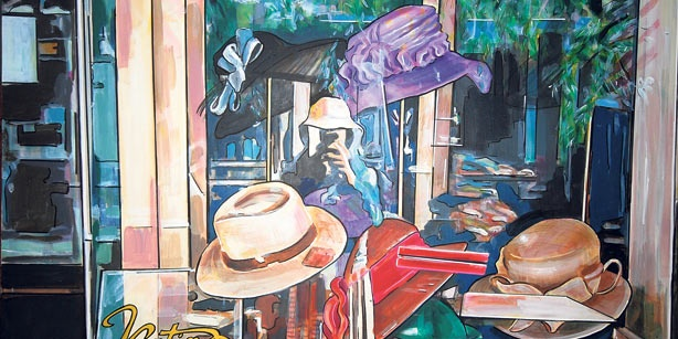 Reysi Kamhi aims to recover memories of İstanbul in paintings