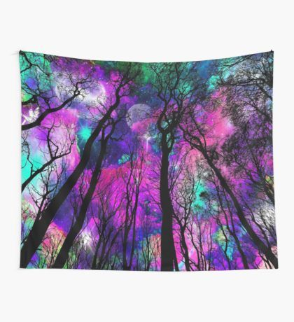 Cyber Monday awesomeness activated. Save 25% sitewide. Use code CYBER25.Magic forest Wall Tapestry