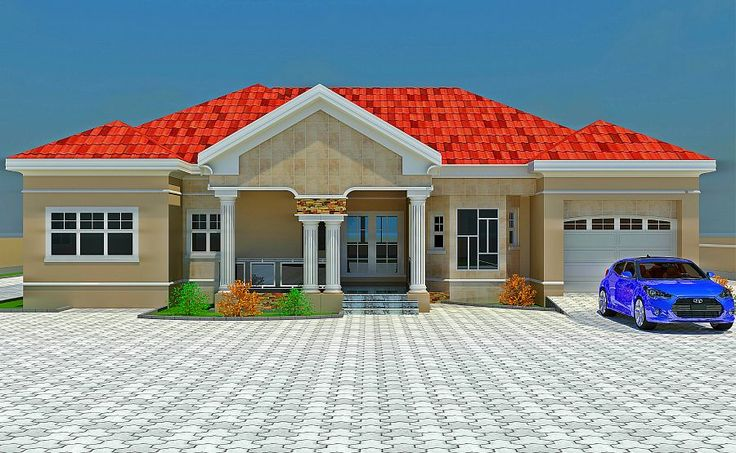 Nigeria floor plans houses with balconies on top yahoo for Types of houses in nigeria
