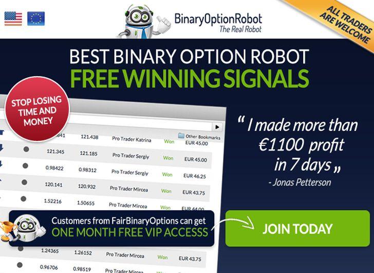 Binary options robots free