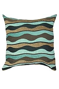 CHENILLE WAVE 65X65XM SCATTER CUSHION 180