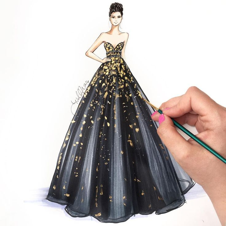 720 Best Fashion Sketches Images On Pinterest Fashion