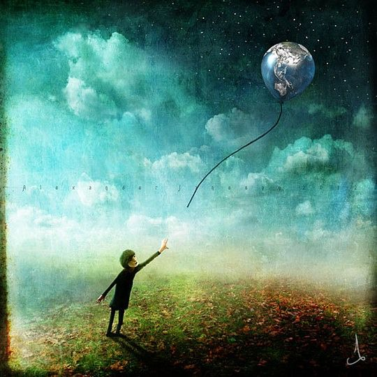 The Whimsical Art of Alexander Jansson | Cruzine