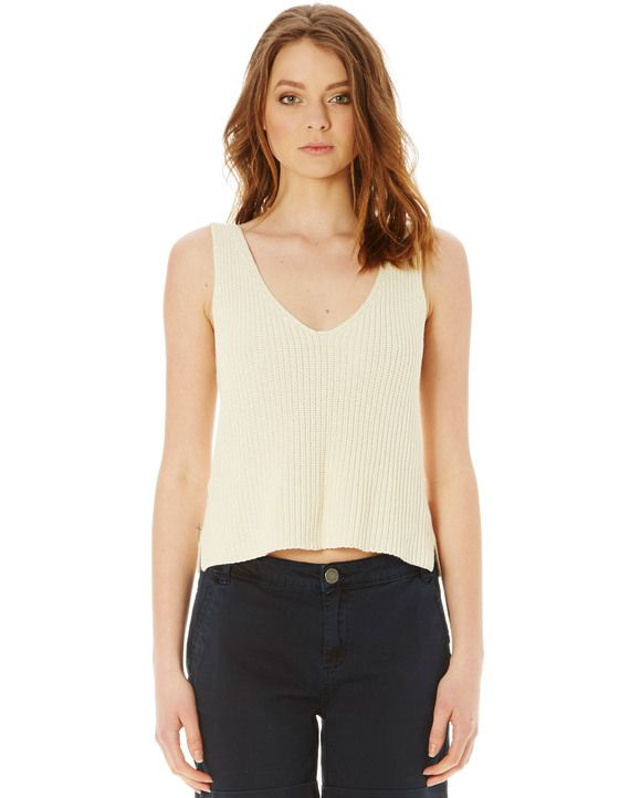 Sleeveless Knit Top