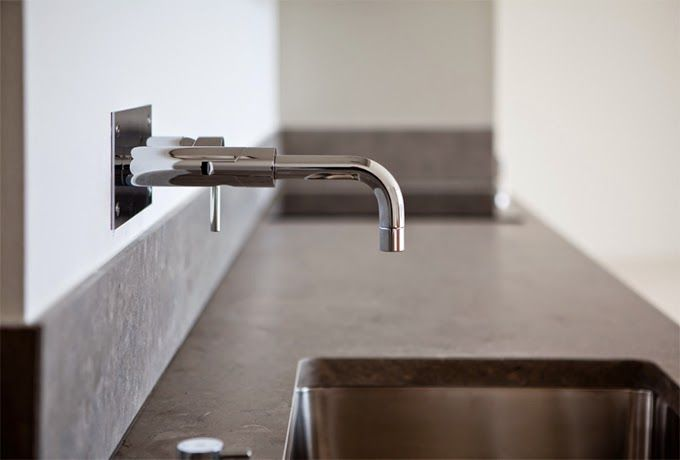 STIL INSPIRATION: Emils Backe | The houses | The tap and the limestone bench top