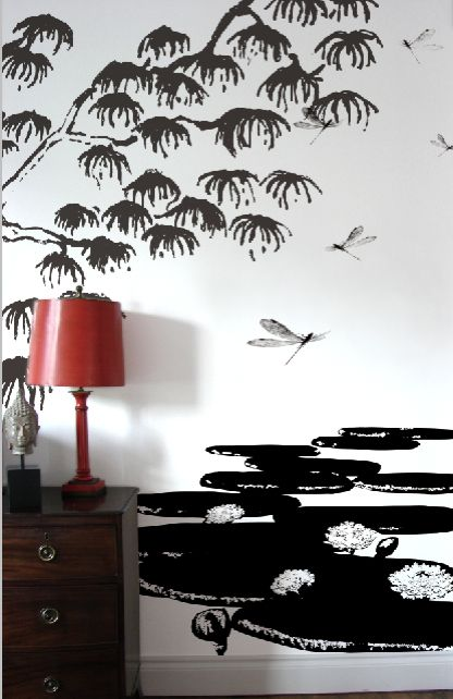 19 best images about japanese wallpaper for room on for Asian wallpaper mural