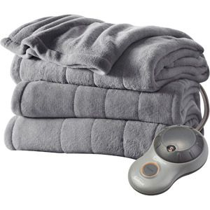 Sunbeam Heated Plush Electric Blanket