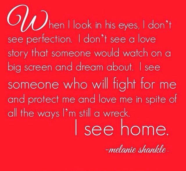 I see home